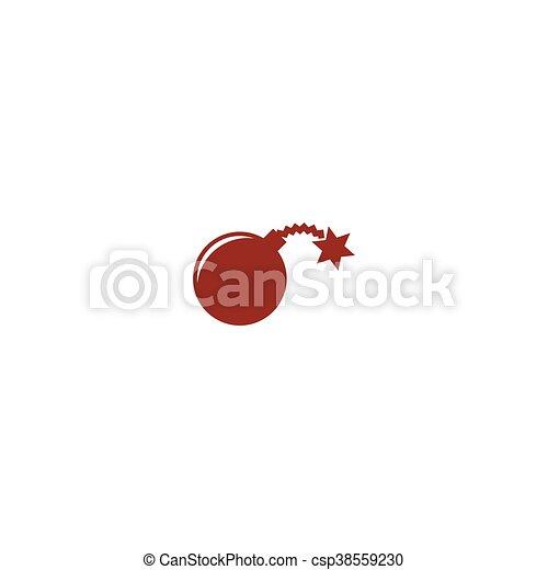 Icono vector TNT - csp38559230