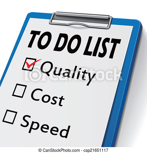 to do list clipboard with check boxes marked for quality vector rh canstockphoto ca