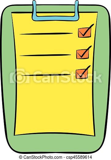 to do list icon cartoon to do list icon in cartoon style vector rh canstockphoto ca things to do list clipart to do list clipart free
