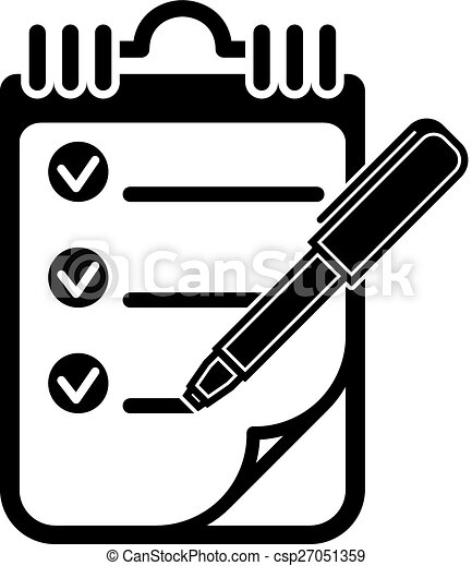 to do list vector illustration to do list with checkmarks rh canstockphoto com