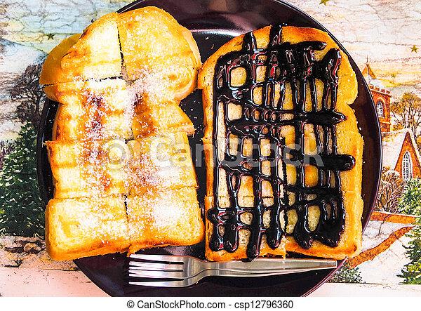 Toast - csp12796360
