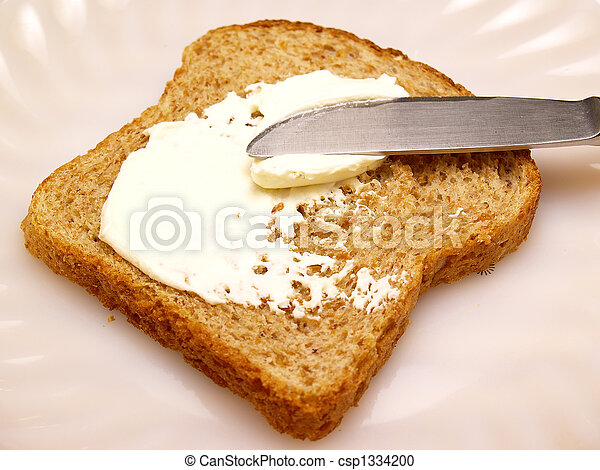 toast with cheese - csp1334200