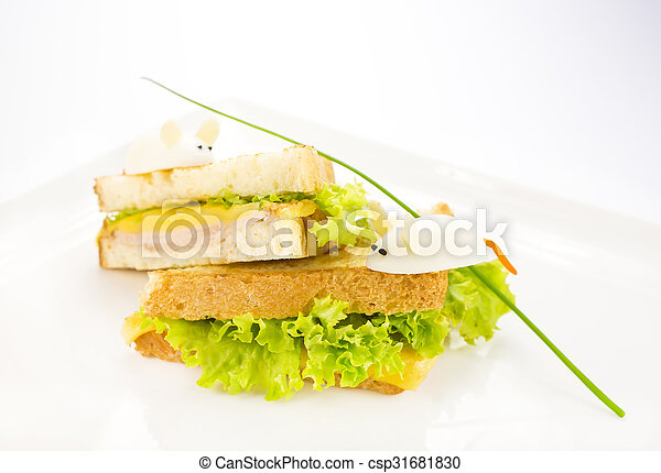 toast with cheese - csp31681830