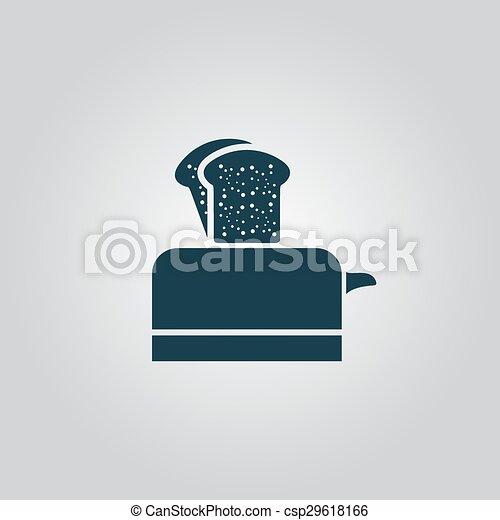 toaster icon - csp29618166