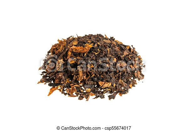 Tobacco on white background - csp55674017