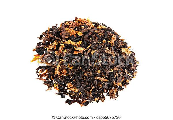 Tobacco on white background - csp55675736