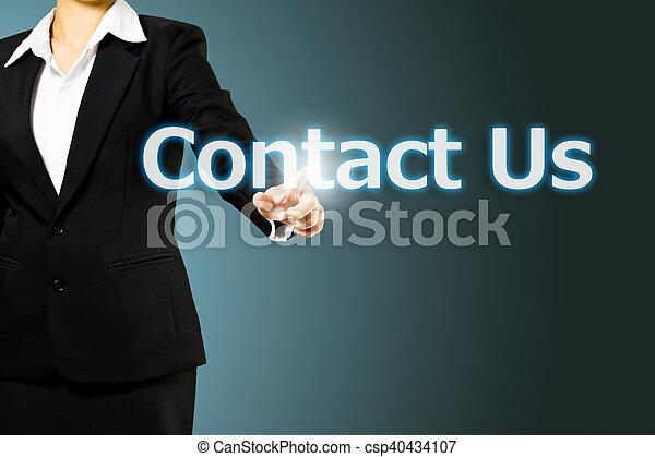 tocco, contatto, affari, ci, mano - csp40434107