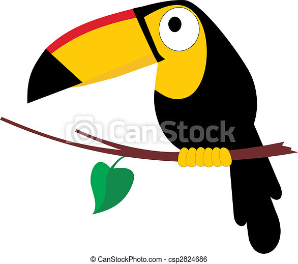 toco toucan abstract vector illustration of tropical bird clip art rh canstockphoto com flying toucan clipart cartoon toucan clipart