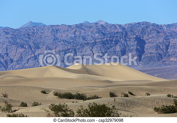 Death Valley Nationalpark, Kalifornien, Usa - csp32979098