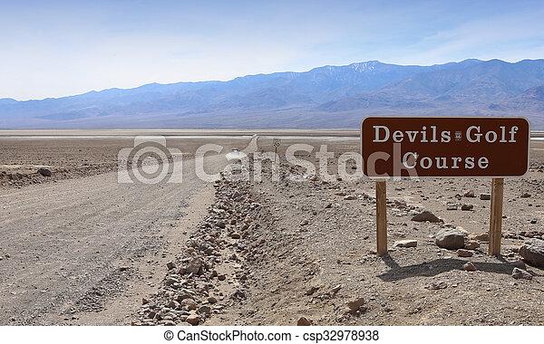 Death Valley Nationalpark, Kalifornien, Usa - csp32978938