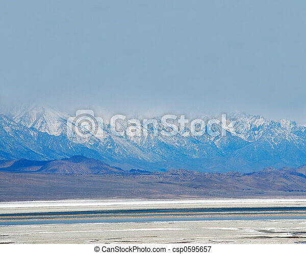 tod, usa, nationalpark, tal, salz, kalifornien, pfanne - csp0595657