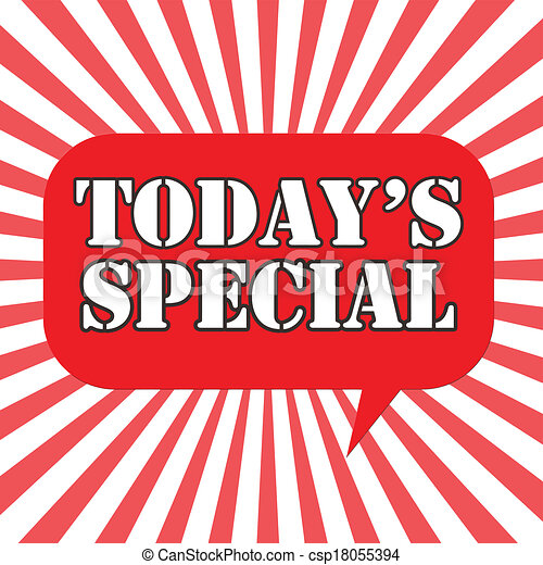 today's, speciale - csp18055394