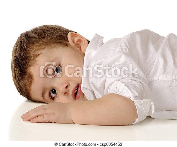 Toddler at Rest - csp6054453