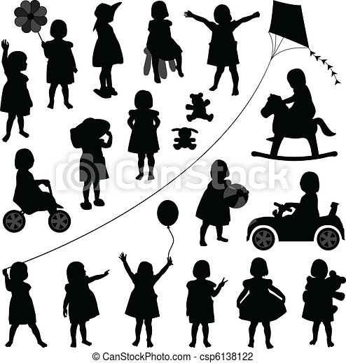 toddler child children baby girl - csp6138122