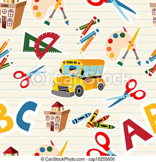 toebehoren, school gereedschap, back - csp10255600
