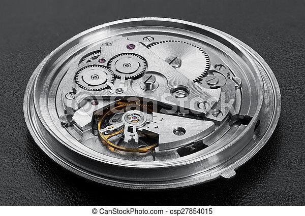 toestellen, mechanisme, klok - csp27854015