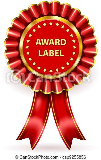 toewijzen, etiket - csp9255856