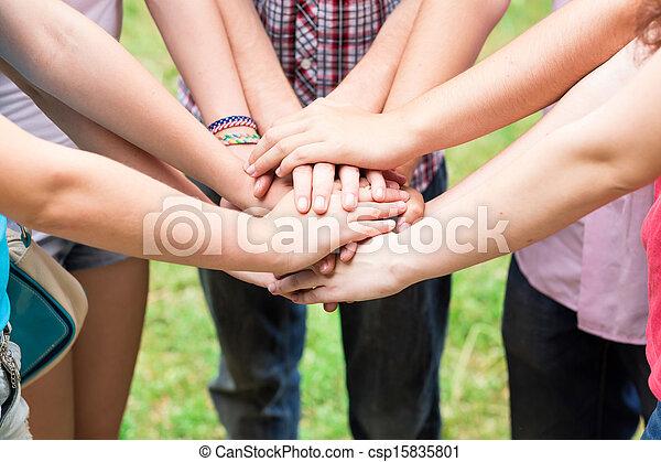 toghether, teens', siła robocza - csp15835801