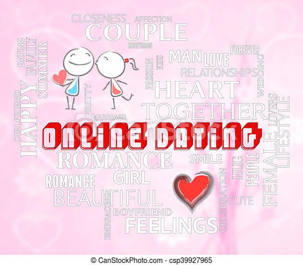 Amour et chercher en ligne datant