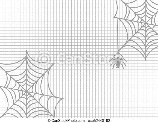 Toile Araignée Halloween Araignés