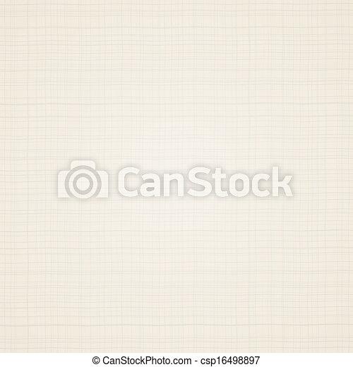 toile, beige, tissu, texture. - csp16498897