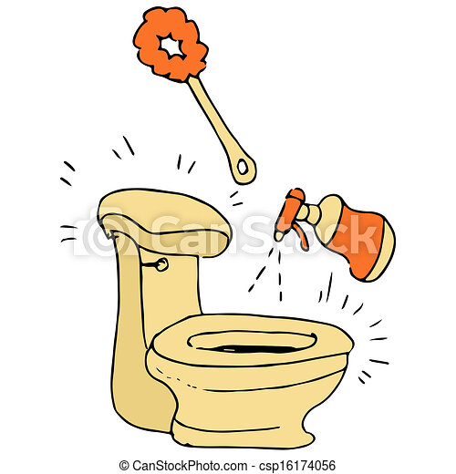 Cleaning Toilet Illustrations And Clipart 12314 Royalty Free Drawings Available To Search From Thousands Of Stock
