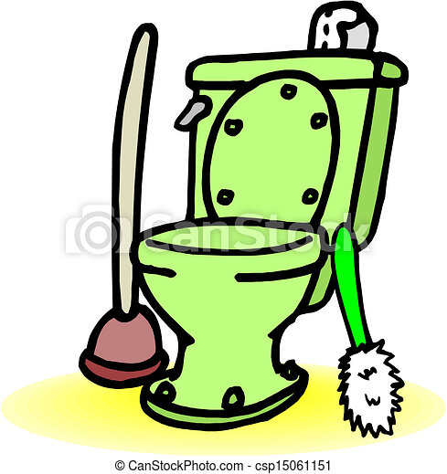 Toilet Clipart Vector