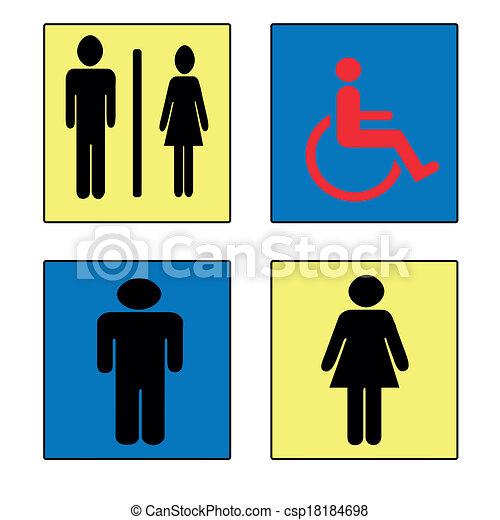 toilet - csp18184698