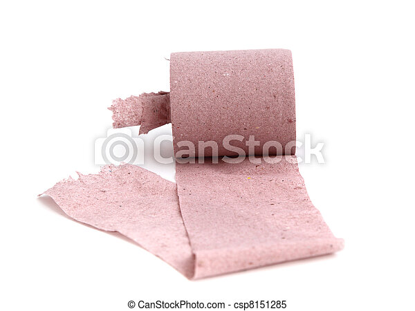 toilet paper - csp8151285