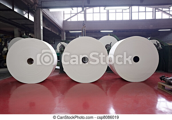 toilet paper tissue manufacturing industry - csp8086019