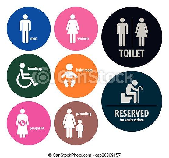 Toilet Signs Restroom Signboards