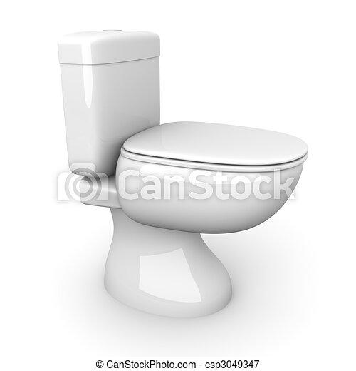 Toilet - csp3049347