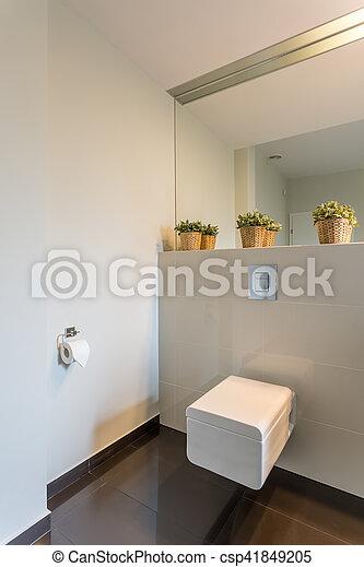Stock Foto   Toilette, Fliesenmuster, Modern, Beige Ideas