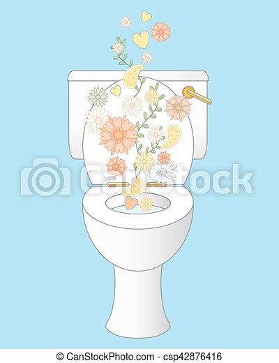 toilette, frais - csp42876416