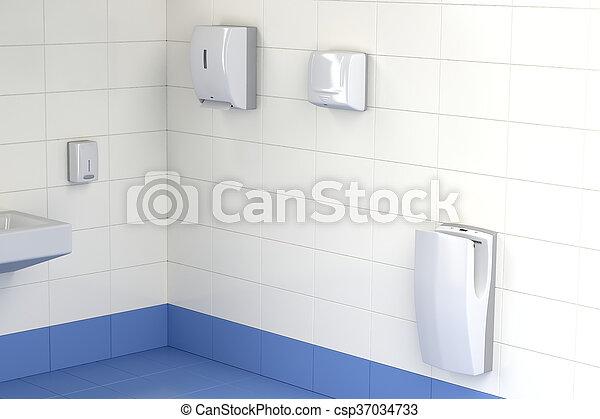 Toilette verschieden drei hand trockner arten toilette düse