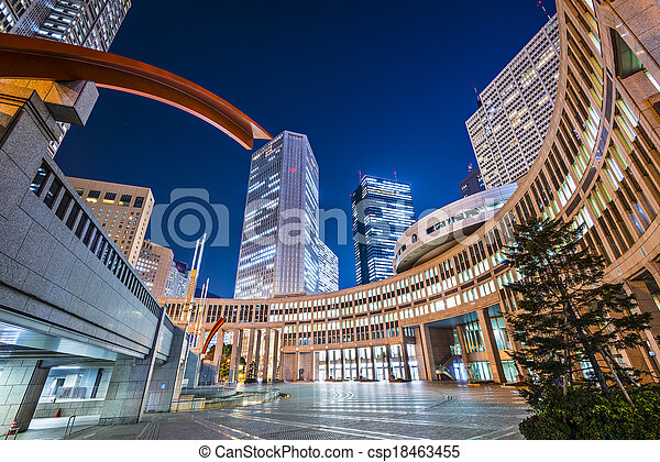 Tokyo at Asakusa - csp18463455