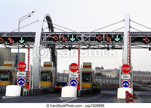 toll road - csp7428888