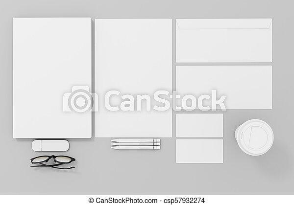 tom, mall, papper, gemensam, id, 3 - csp57932274