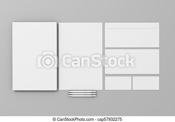 tom, mall, papper, gemensam, id, 3 - csp57932275