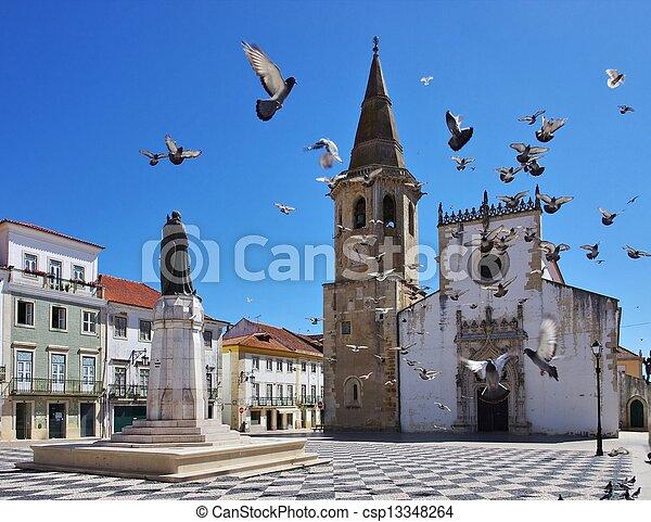 Tomar church 01 - csp13348264