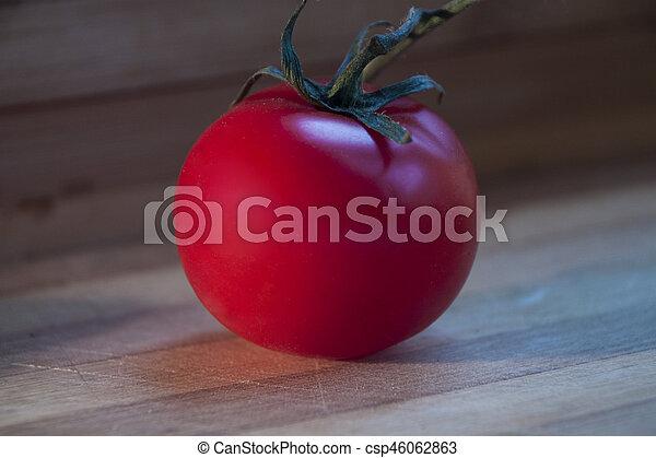 Tomate bois rouges mûre bureau.
