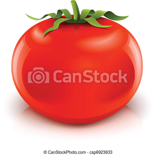 tomate, rouges, mûre - csp6923633