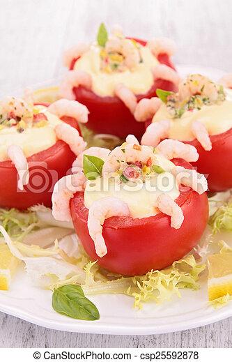 tomato appetizer - csp25592878