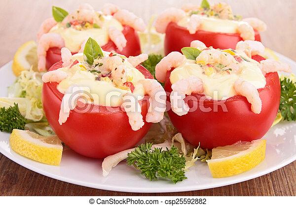 tomato appetizer - csp25592882
