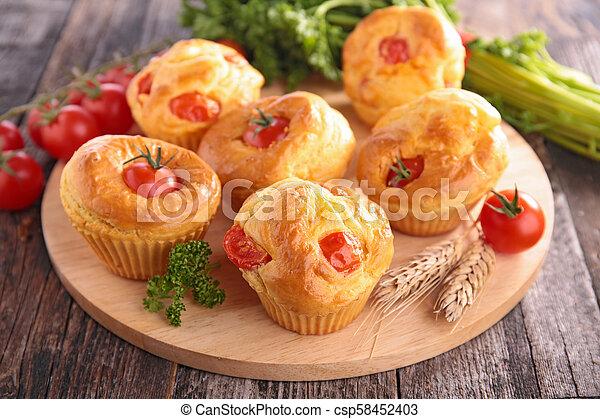 tomato cake appetizer - csp58452403