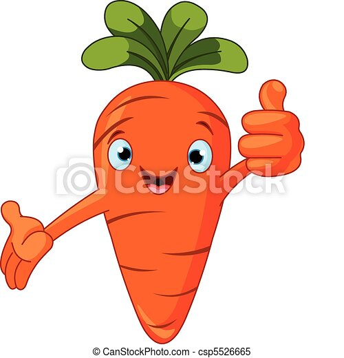 Tomato Character giving thumbs up - csp5526665