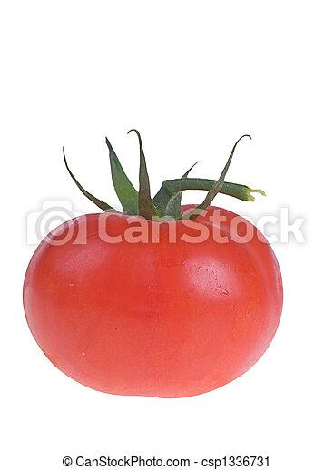 tomato isolated on white - csp1336731