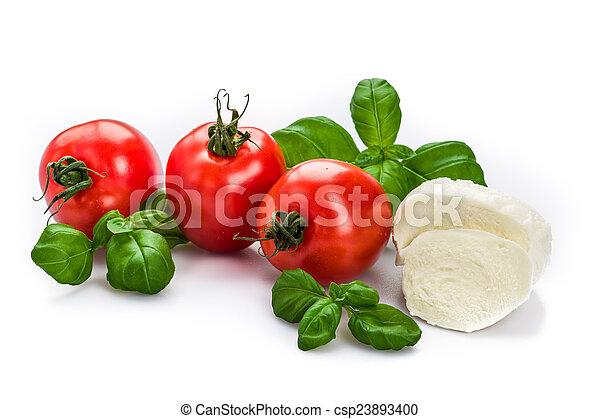 Tomato Mozzarella - csp23893400