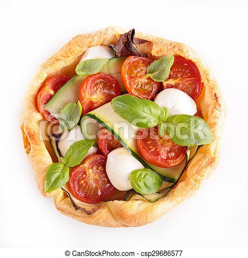 tomato pie - csp29686577