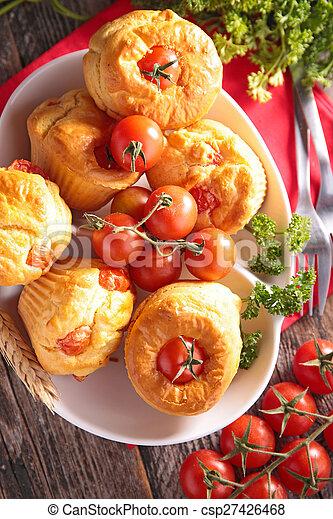 tomato pie - csp27426468